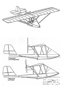 Flugzeugzeichnung
